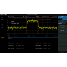 Siglent SSA3000X pokročilá měření